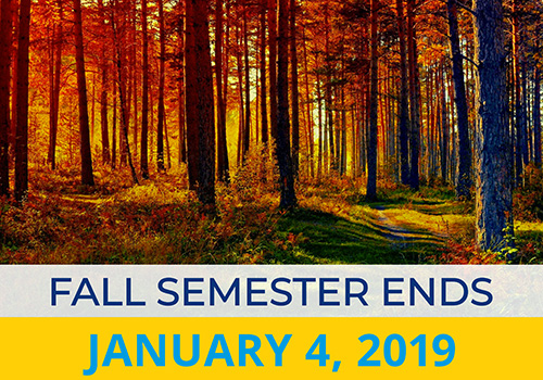 Fall Semester Ends_Jan